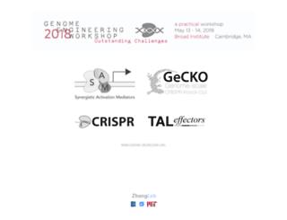 genome-engineering.org screenshot