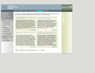 genomica.weizmann.ac.il screenshot