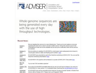 genomics.scripps.edu screenshot