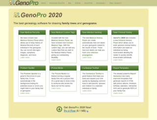 genopro.com screenshot