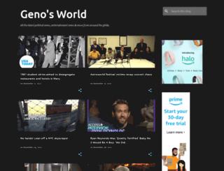 genosworld.blogspot.com screenshot
