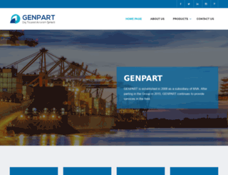 genpart.com.tr screenshot