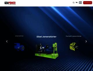 genpower.com.tr screenshot