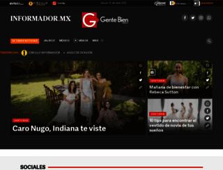 gentebien.com.mx screenshot