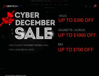 gentechpc.com screenshot