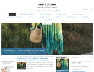 gentecosmo.com screenshot