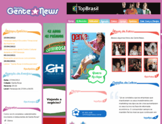 gentenews.com.br screenshot