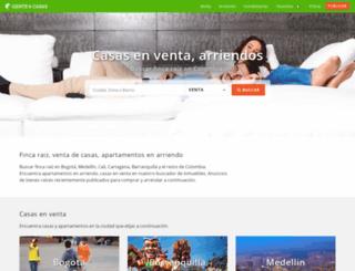 genteycasas.com screenshot