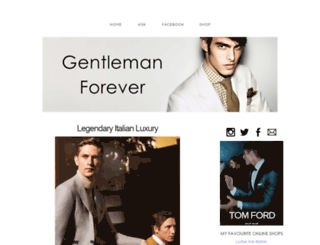 gentleman-forever.com screenshot