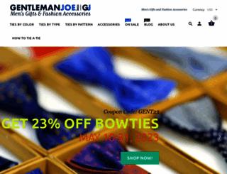 gentlemanjoe.com screenshot
