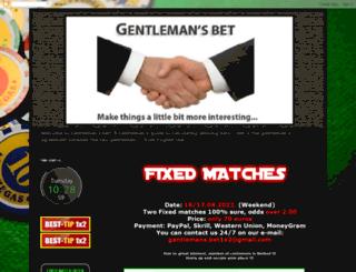 gentlemans1x2.blogspot.com screenshot