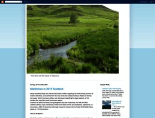 gentleotterblog.blogspot.co.uk screenshot