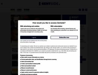 gentside.de screenshot