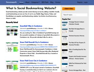 genuinepath.com screenshot