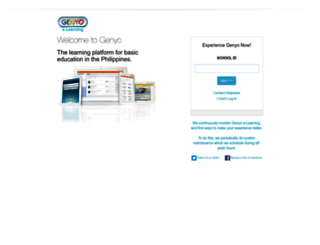 genyo.com.ph screenshot