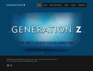 genzmarketing.com screenshot