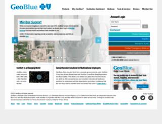 geo-blue.com screenshot