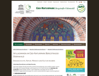 geo-naturpark.net screenshot