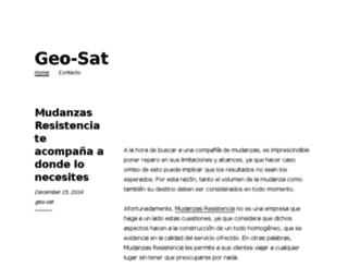 geo-sat.com.ar screenshot