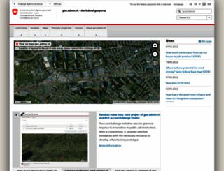 geo.admin.ch screenshot