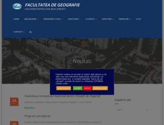 geo.unibuc.ro screenshot