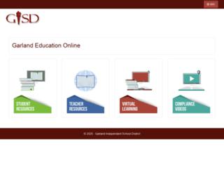 geo2.garlandisd.net screenshot