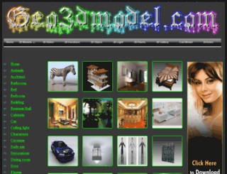 geo3dmodel.com screenshot