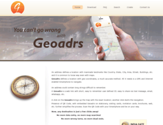 geoadrs.com screenshot