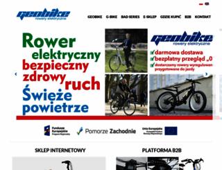 geobike.com.pl screenshot
