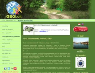 geobolt.hu screenshot