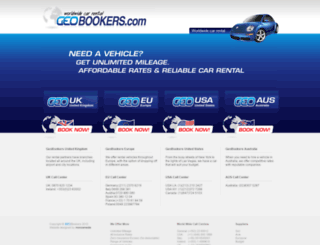 geobookers.com screenshot