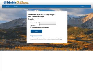 geocachenavigator.com screenshot