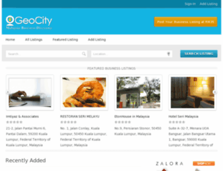 geocity.com.my screenshot