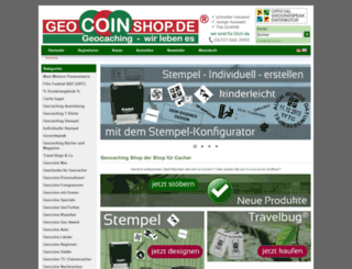 geocoinshop.de screenshot