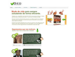 geoconcursos.geotrack.com.br screenshot
