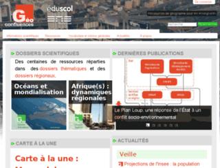 geoconfluences.ens-lsh.fr screenshot