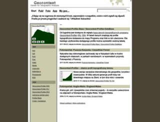 geocontext.org screenshot