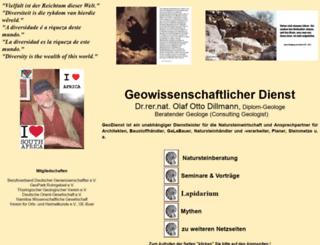 geodienst.de screenshot