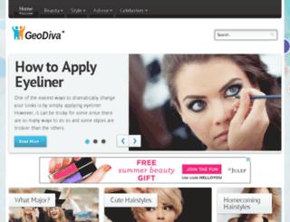 geodiva.org screenshot