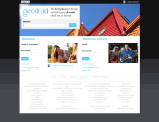 geodruid.com screenshot
