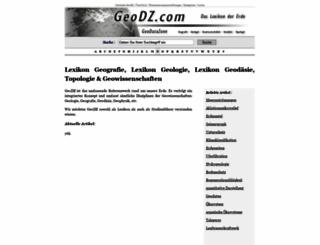 geodz.com screenshot