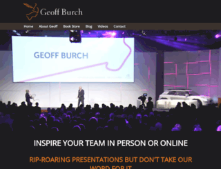 geoffburch.com screenshot
