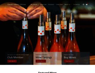 geoffmerrillwines.com.au screenshot