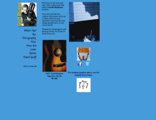 geoffmuldaur.com screenshot