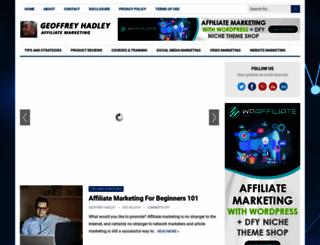 geoffreyhadley.com screenshot