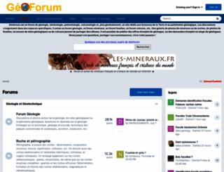 geoforum.fr screenshot