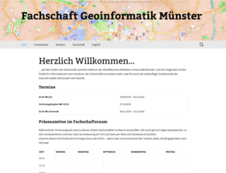 geofs.uni-muenster.de screenshot