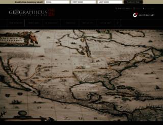 geographicus.com screenshot