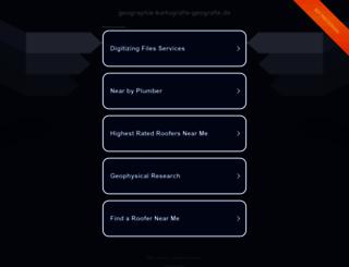 geographie-kartografie-geografie.de screenshot