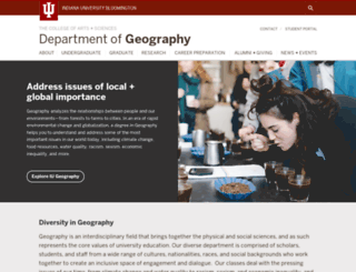 geography.indiana.edu screenshot